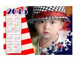 2015年美国baby年历